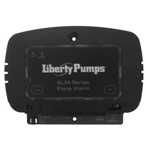 Alarm, 115V., 9V battery protected, float activated,