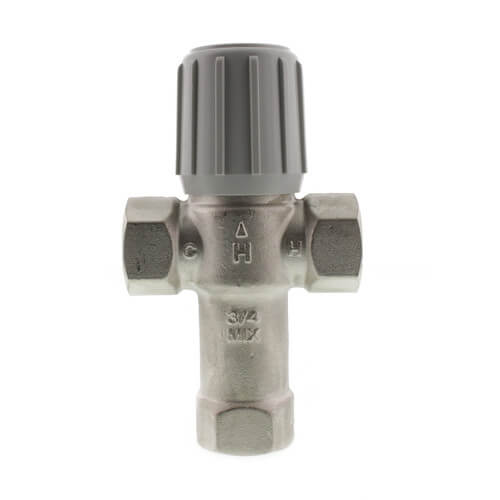 "3/4"" Female NPT Lead Free Mixing Valve, 70-145F Product Image"