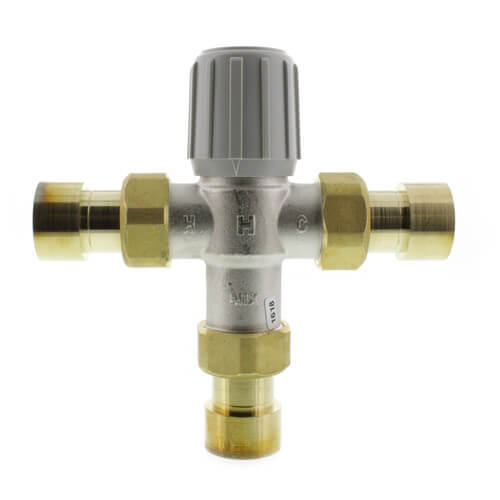 "1"" Sweat Union Mixing Valve (Lead Free) Product Image"