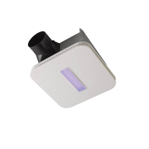 SurfaceShield Vital Vio Powered Exhaust Fan w/ LED Light & Antibacterial Light (110 CFM) Product Image