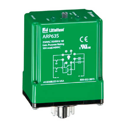 DPDT 8 Pin Cross-Wired Alternating Relay (120V) Product Image