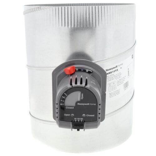 "10"" Round Automatic TrueZONE Damper Product Image"