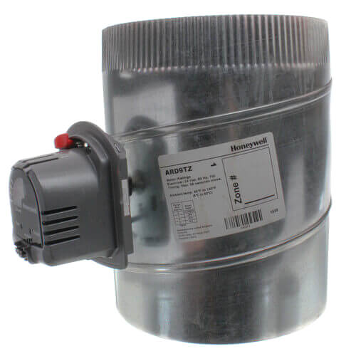"20"" Round Automatic TrueZONE Damper Product Image"