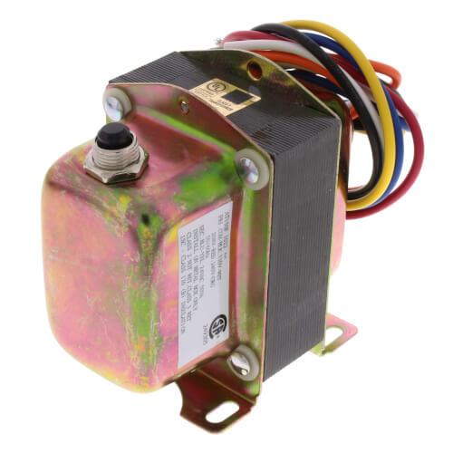 """Plate or Panel Mounted 120/208/240 Vac Transformer w/ 9"""" Lead Wires & Metal End Bells Product Image"""