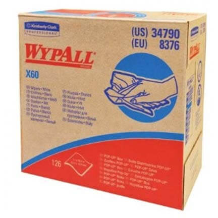 "Wypall Teri Towels, 9-3/4"" x 16-3/4"" (125 sheets per Box) Product Image"