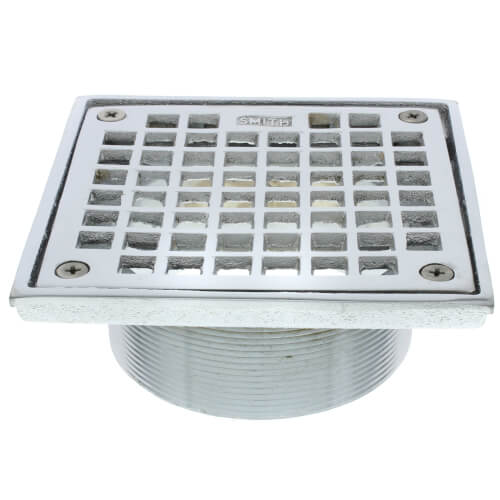 B05cp Jay R Smith B05cp 5 Square Floor Drain Grate And Screws Chrome Plated