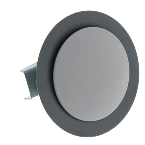 """1-3/4"""" OD Sink Hole Cover w/ Wing Nut (Polar White) Product Image"""