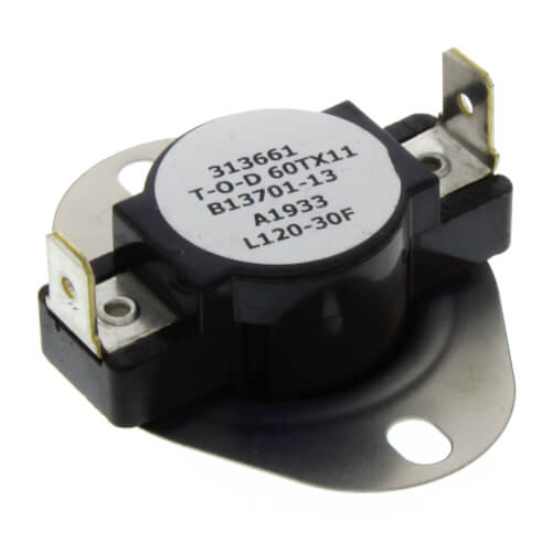 Auxillary Limit Switch 120°F Product Image