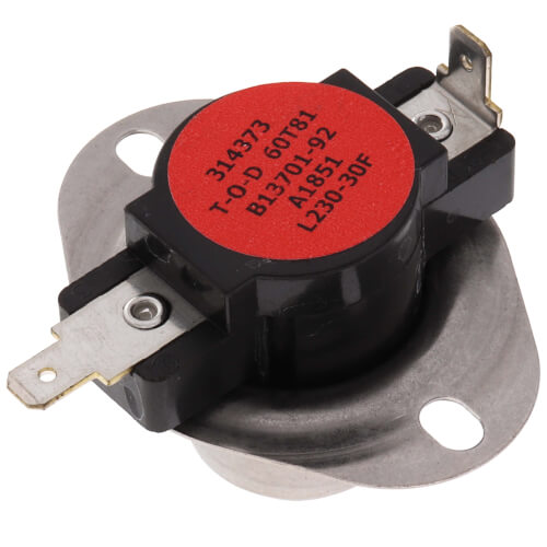 230°F Primary Limit Switch Product Image