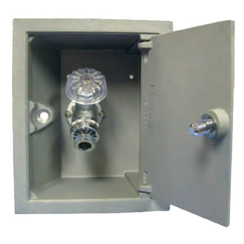 """Model-B24, 1/2"""" FPT Anti-Siphon Box Hydrant Product Image"""