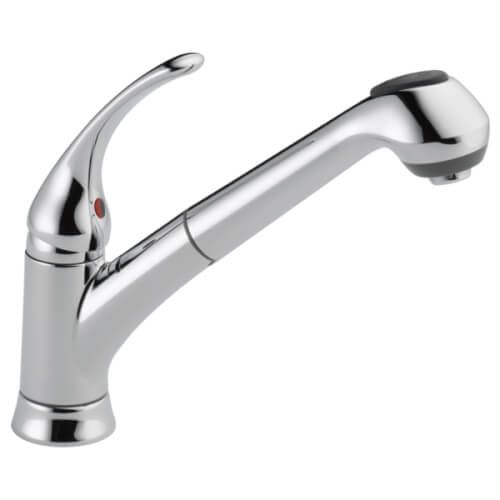 Foundations Single Handle Pull-Out Kitchen Faucet Product Image