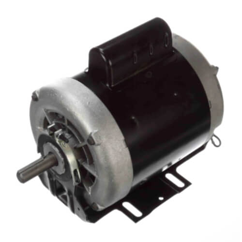 """6-1/2"""" Capacitor Start Resilient Base Motor (208-230/115V, 3450 RPM, 3/4 HP) Product Image"""
