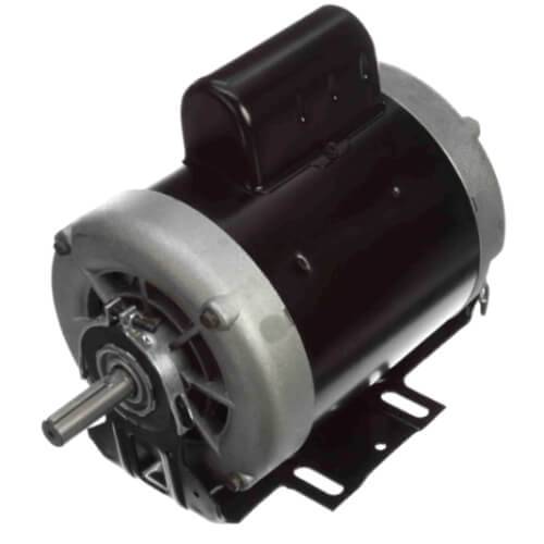 """6-1/2"""" Capacitor Start Resilient Base Motor w/ Sleeve Bearing (208-230/115V, 3450 RPM, 1 HP) Product Image"""