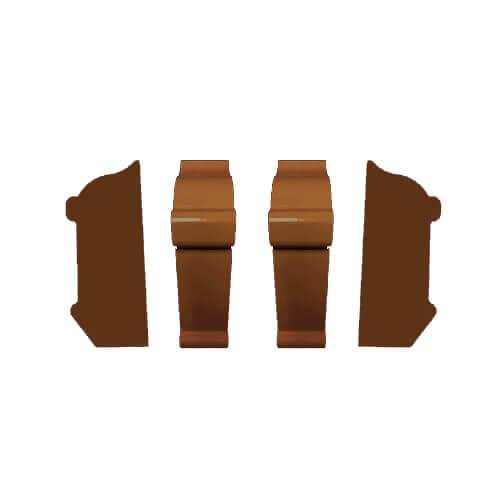 Complete End Cap Set (Dark Walnut) Product Image