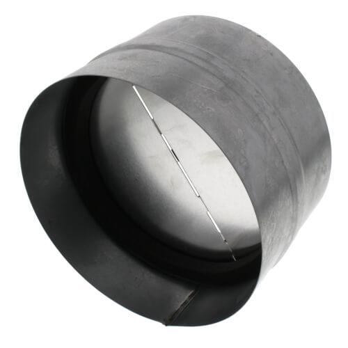 "BDD6R 6"" Round Duct Metal Back Draft Damper Product Image"