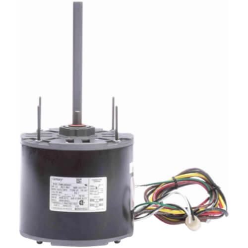 "5-5/8"" Diameter Stock Motor (460V, 1075 RPM, 3/4, 1/2 HP) Product Image"