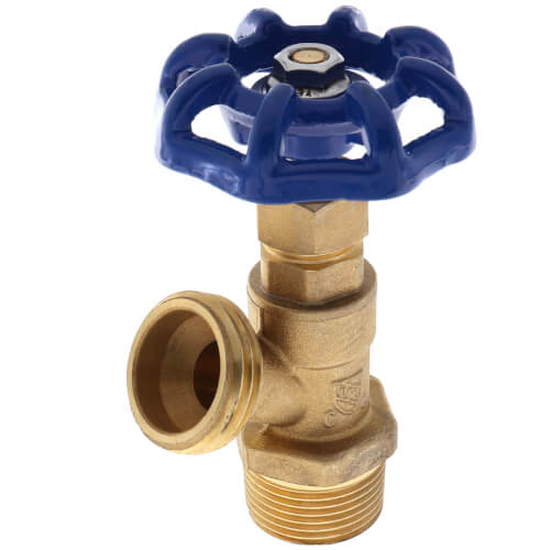 """3/4"""" MPT Boiler Drain, Male Threaded Product Image"""