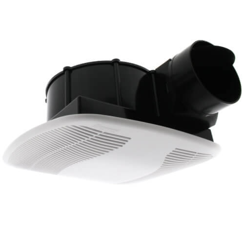 "BFQ80 Quiet Exhaust Fan w/ 4"" Duct (80 CFM) Product Image"