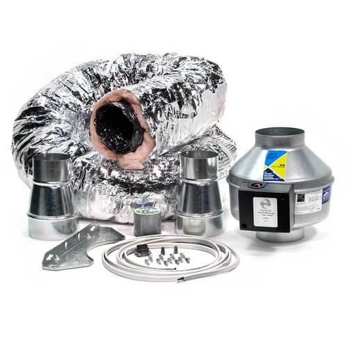 "BFRK100 Bath Fan Retrofit Kit, 4"" Duct Product Image"