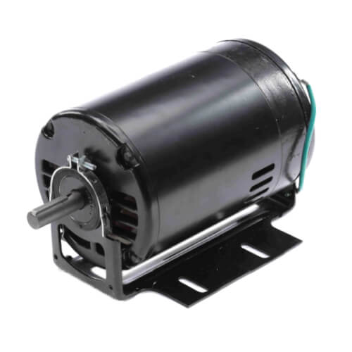 "6-1/2"" Capacitor Start Resilient Base Motor (115/208-230V, 1/2 HP, 3450 RPM) Product Image"