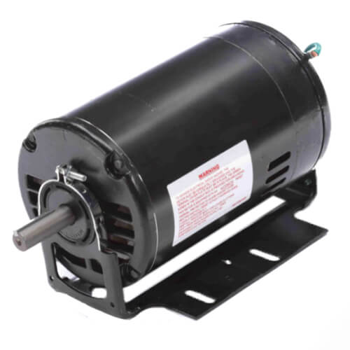 "6-1/2"" Capacitor Start Resilient Base Motor (115/208-230V, 1/2 HP, 1725 RPM, Product Image"