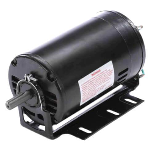 "6-1/2"" Capacitor Start Resilient Base Motor (115/208-230V, 1 HP, 3450 RPM) Product Image"