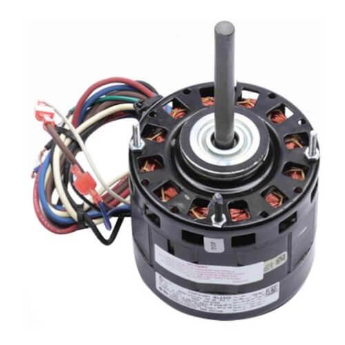 """5"""" 3-Speed Single Shaft Open Fan/Blower Motor (115V, 1075 RPM, 1/3, 1/4, 1/6 HP) Product Image"""