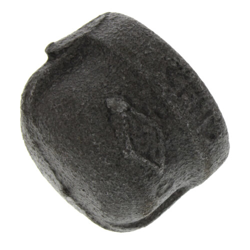 """1/2"""" Black Cap Product Image"""
