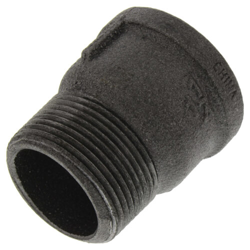 "1-1/4"" Black Extension Piece Product Image"