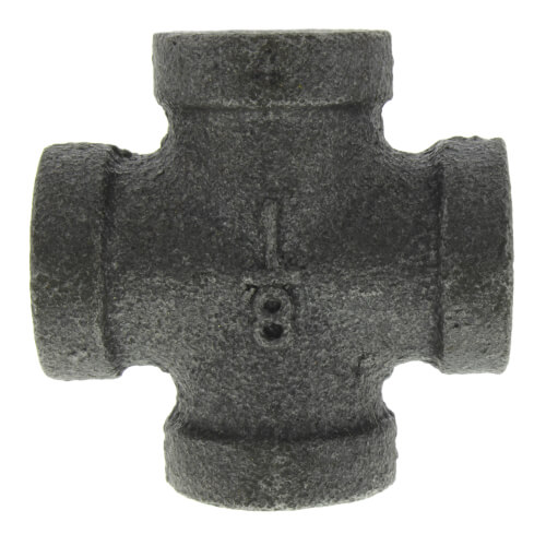 "1/8"" Black Cross Product Image"