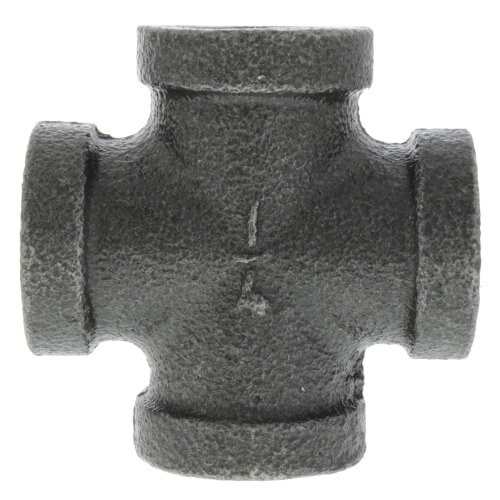 "1/4"" Black Cross Product Image"