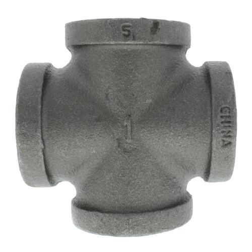 "1"" Black Cross Product Image"
