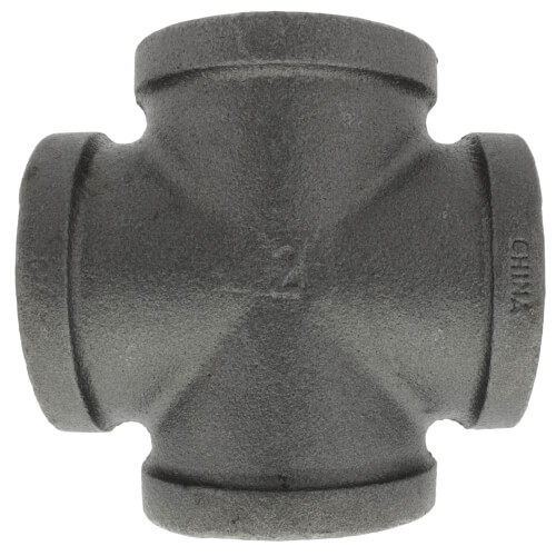 "2"" Black Cross Product Image"