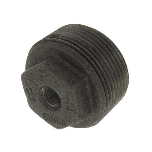 """1-1/4"""" x 1/8"""" Black Hex Bushing Product Image"""
