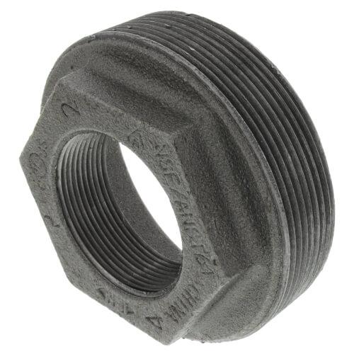 """4"""" x 2"""" Black Hex Bushing Product Image"""