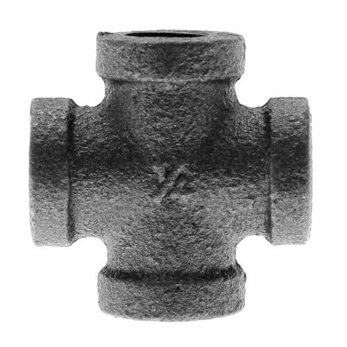 "1/4"" Black Cross Product Image"