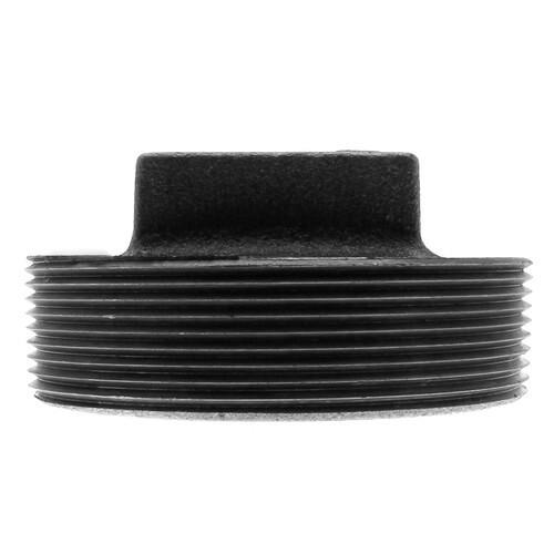 """4"""" Black Plug Product Image"""