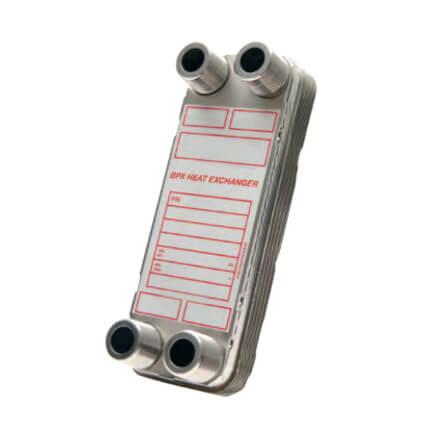 250,000 BTU/Hr Low Pressure BPX Brazed Plate Heat Exchanger Product Image
