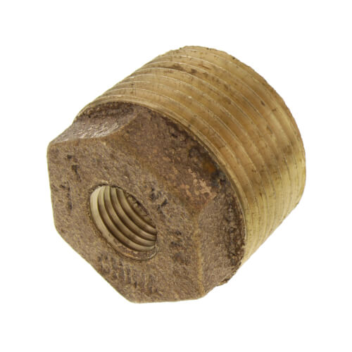 "1"" x 1/4"" MIP x FIP Brass Bushing (Lead Free) Product Image"
