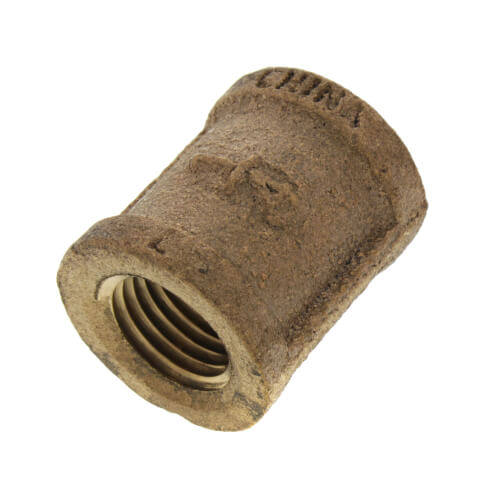 """1/4"""" FIP Brass Coupling (Lead Free) Product Image"""