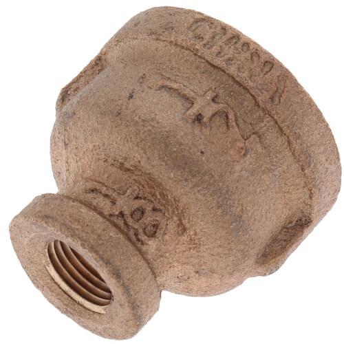 "1/2"" x 1/8"" FIP Brass Coupling (Lead Free) Product Image"