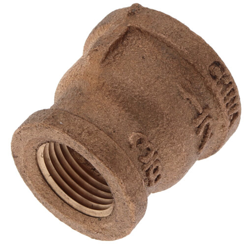 "1/2"" x 3/8"" FIP Brass Coupling (Lead Free) Product Image"