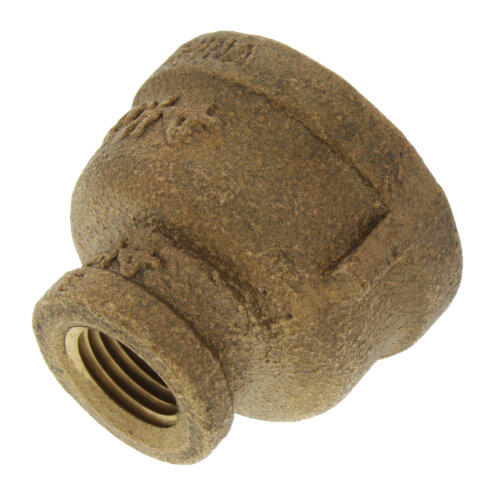 """3/4"""" x 1/4"""" FIP Brass Coupling (Lead Free) Product Image"""