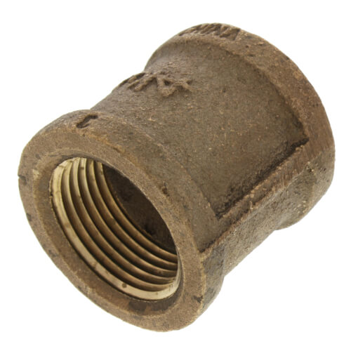 "3/4"" FIP Brass Coupling (Lead Free) Product Image"
