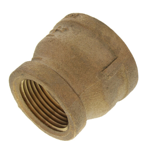 """1-1/4"""" x 3/4"""" FIP Brass Coupling (Lead Free) Product Image"""