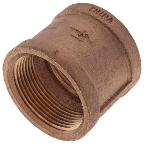 """1-1/2"""" FIP Brass Coupling (Lead Free) Product Image"""