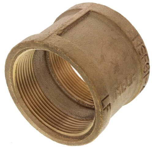 """2"""" FIP Brass Coupling (Lead Free) Product Image"""