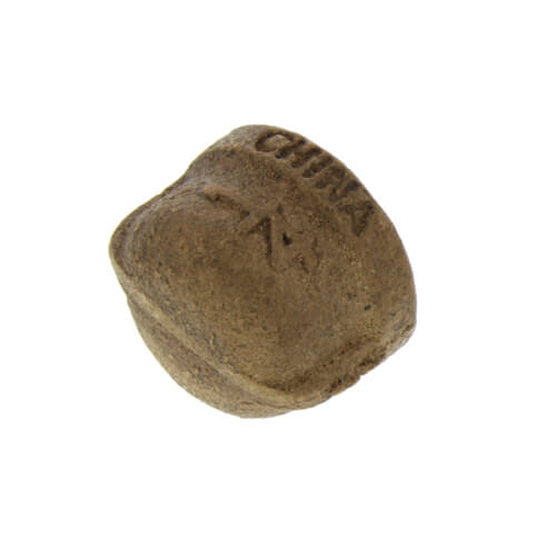 """1/4"""" Threaded Brass Cap (Lead Free) Product Image"""