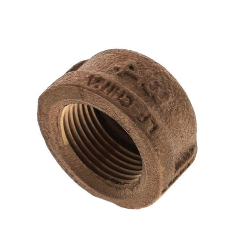 "3/4"" Threaded Brass Cap (Lead Free) Product Image"