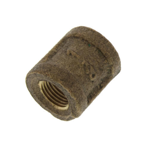 """1/8"""" FIP Brass Coupling (Lead Free) Product Image"""